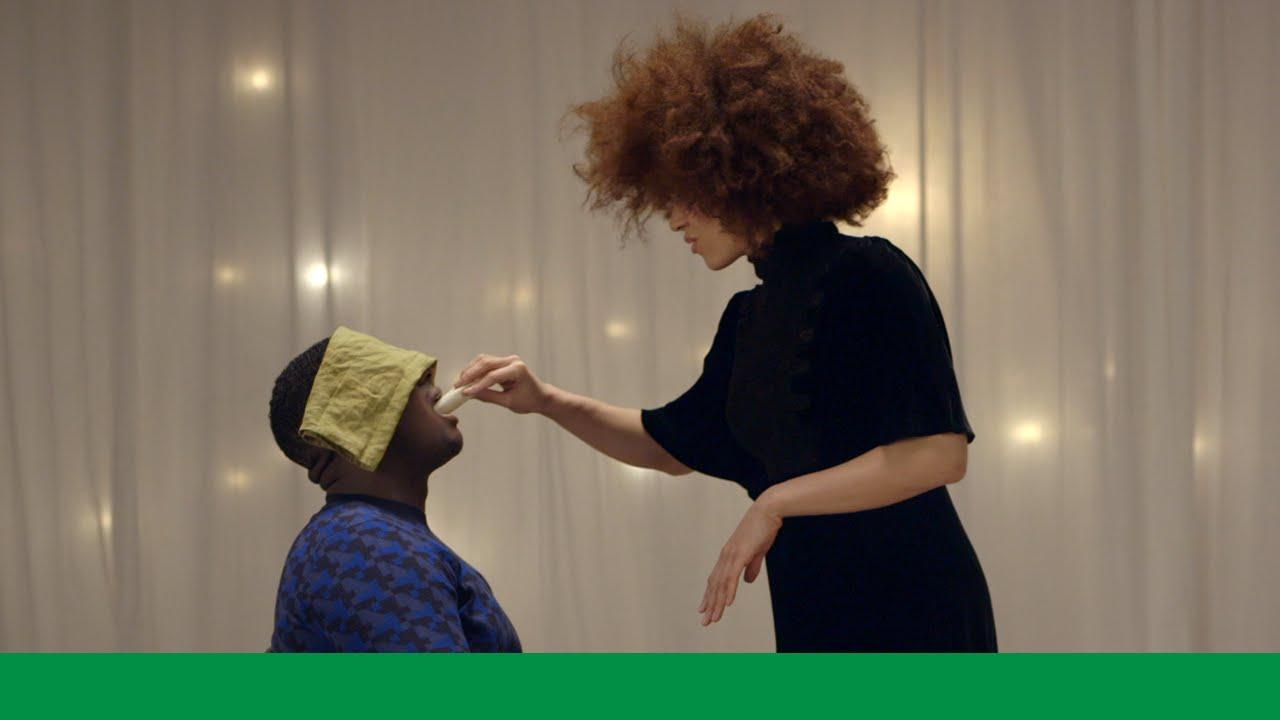 「讓人幸福又害羞的廣告:第一口遇見愛」- Knorr #LoveAtFirstTaste