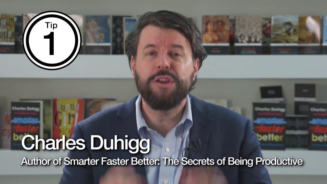 「偷偷這樣做,聰明提升生產力」- The Secrets of Being Productive