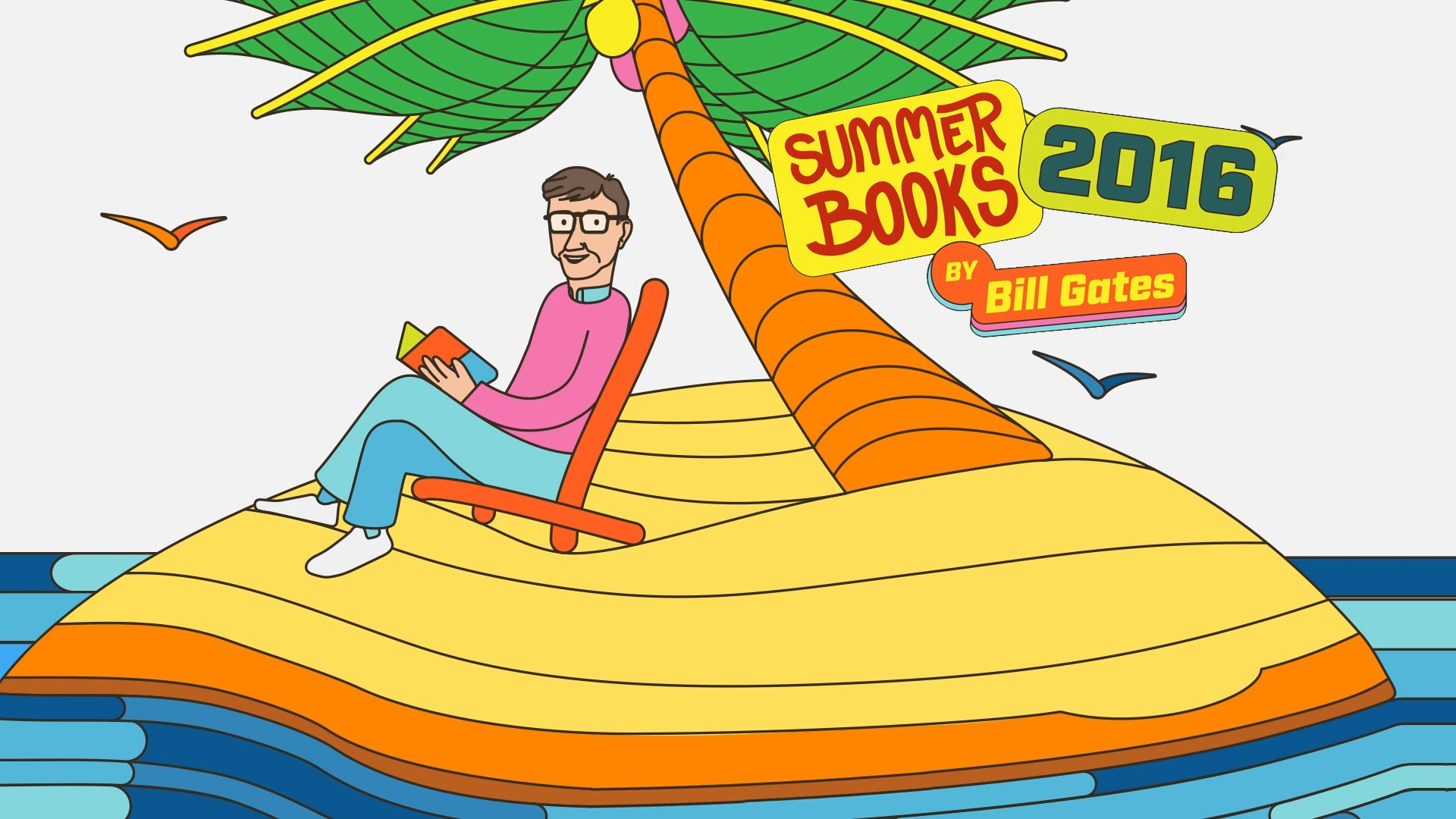 「比爾‧蓋茲的 2016 夏日書單」- 5 Books to Read This Summer
