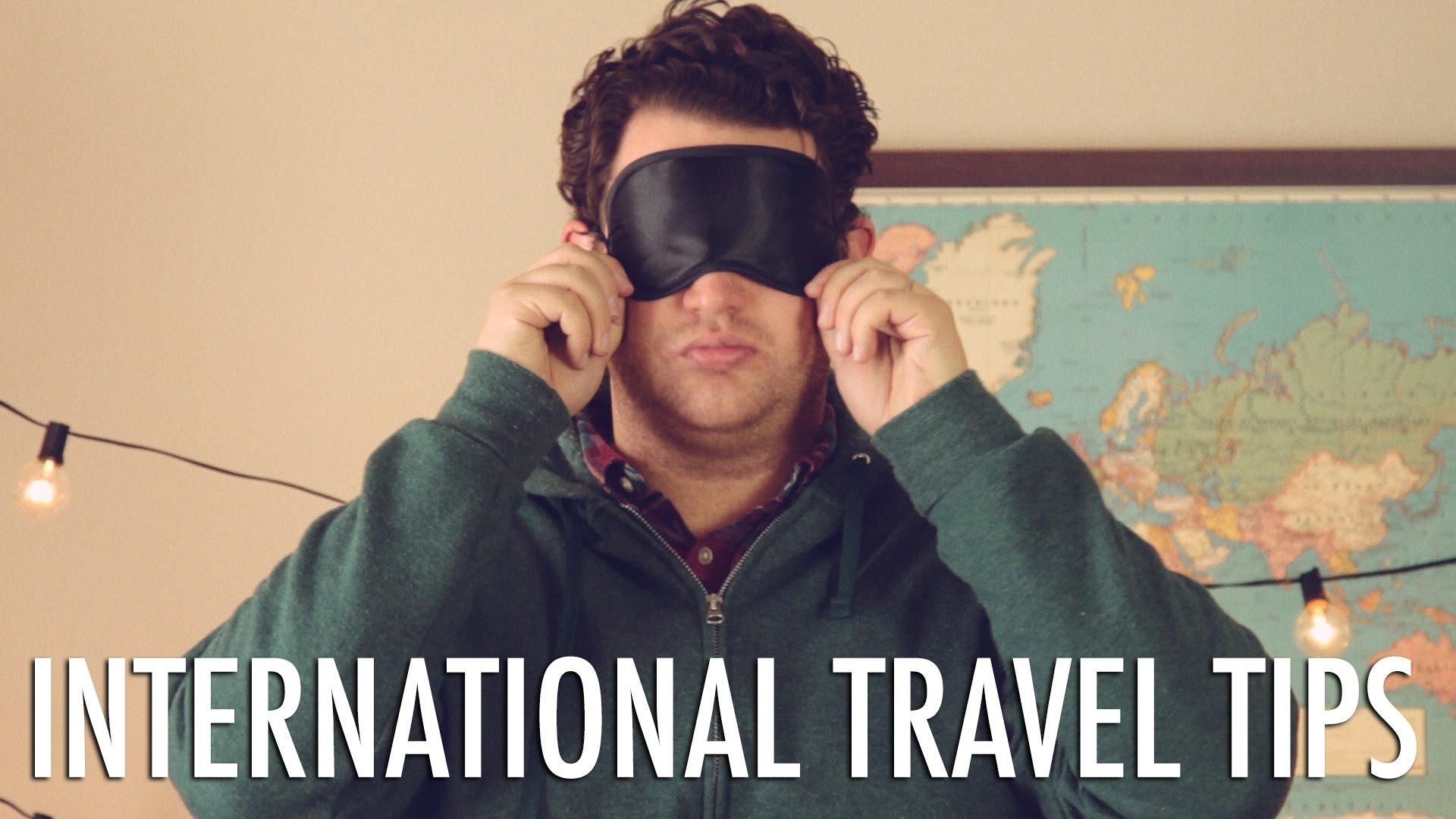 「出國好好玩、搭機好麻煩,你需要 PRO 技巧!」- Travel Tips for International Flights