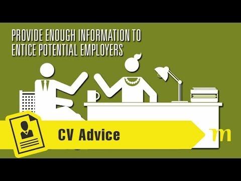 「如何寫出一份讓企業主 WOW 的履歷」- How to Write a Good CV