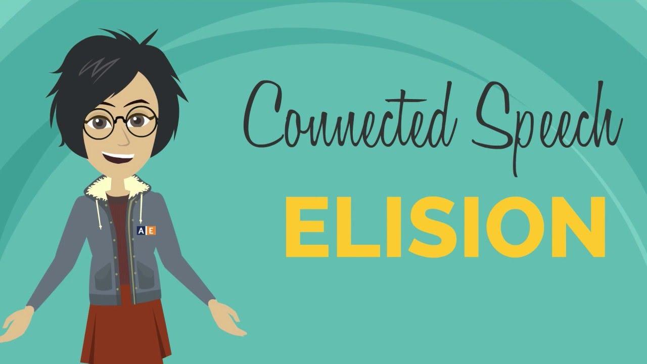「你說的英文道地嗎?唸唸看 handsome 這個字就知道」- Elision