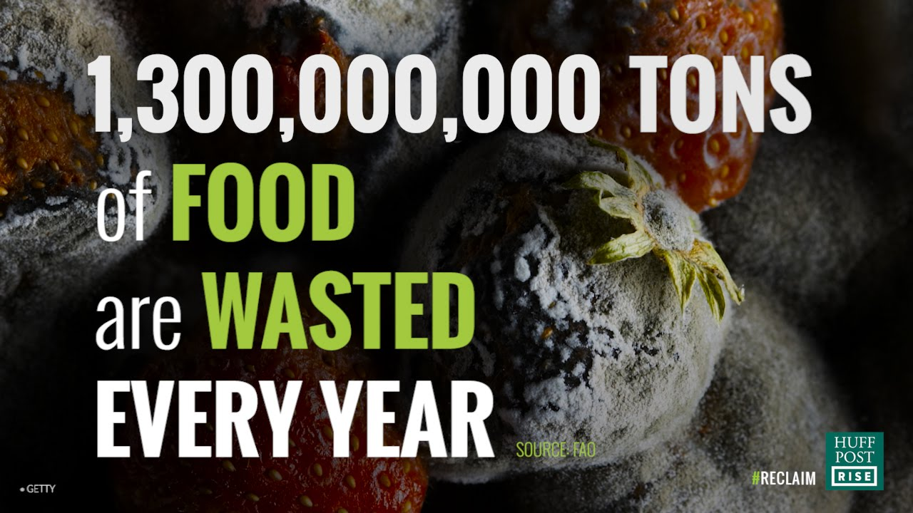 「你知道人類每年浪費多少食物嗎?」- Help Us End Food Waste