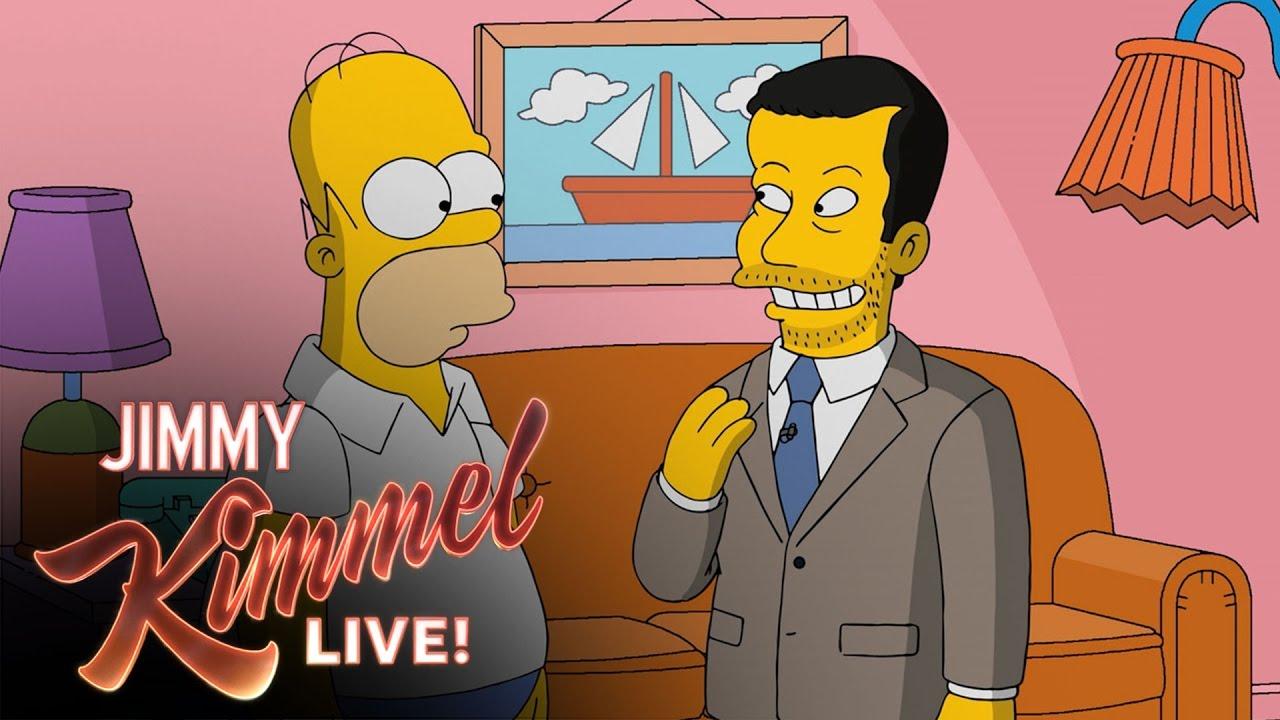 「【週五笑一下】跟著 Jimmy Kimmel 到辛普森家作客」- Homer Simpson Gives Jimmy Kimmel a Tour of Springfield