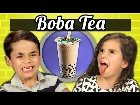 「小朋友遇上異國美食:珍珠奶茶篇」- KIDS vs. FOOD—BOBA TEA
