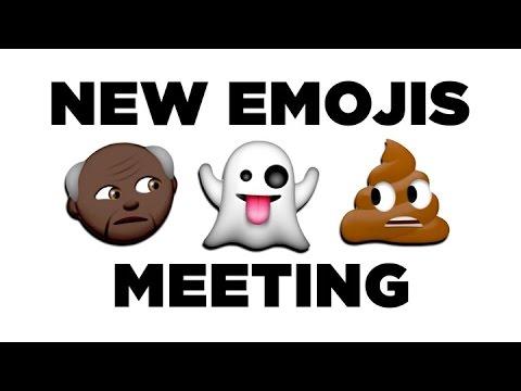 「表情符號開會啦!原來 emoji 們有那麼多不能說的秘密」- The New Emojis Have a Meeting
