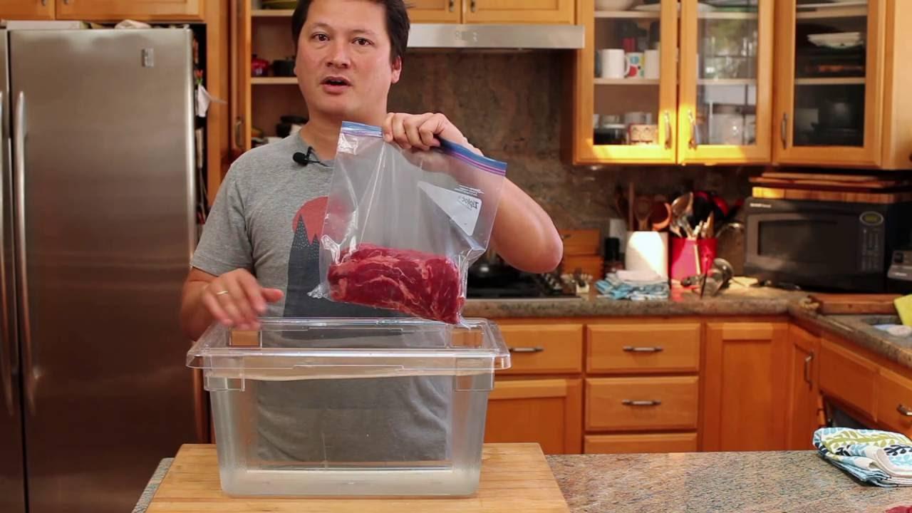 「廚房保鮮妙招:只要一盆水就能將所有食材『真空保存』」- How to Seal Food Air-Free without a Vacuum Sealer