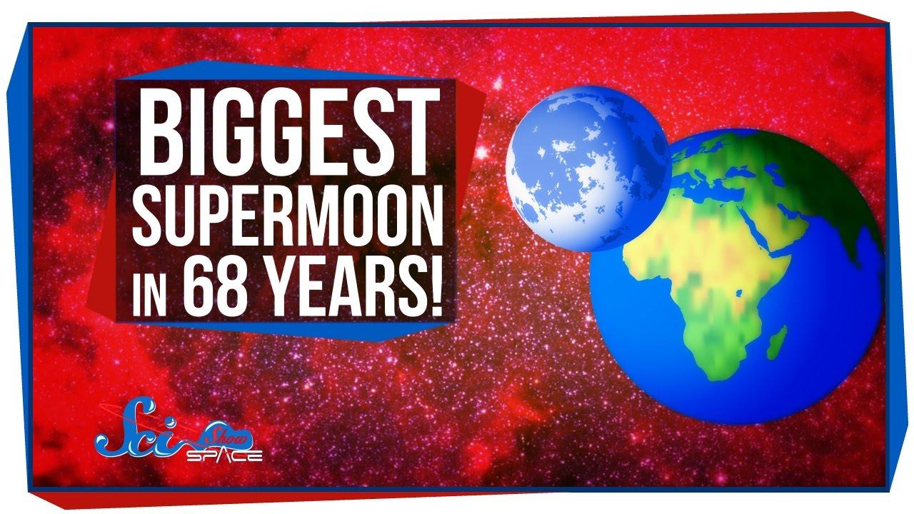 「就在今晚,68 年來最大的超級月亮!」- The Biggest Supermoon in 68 Years!