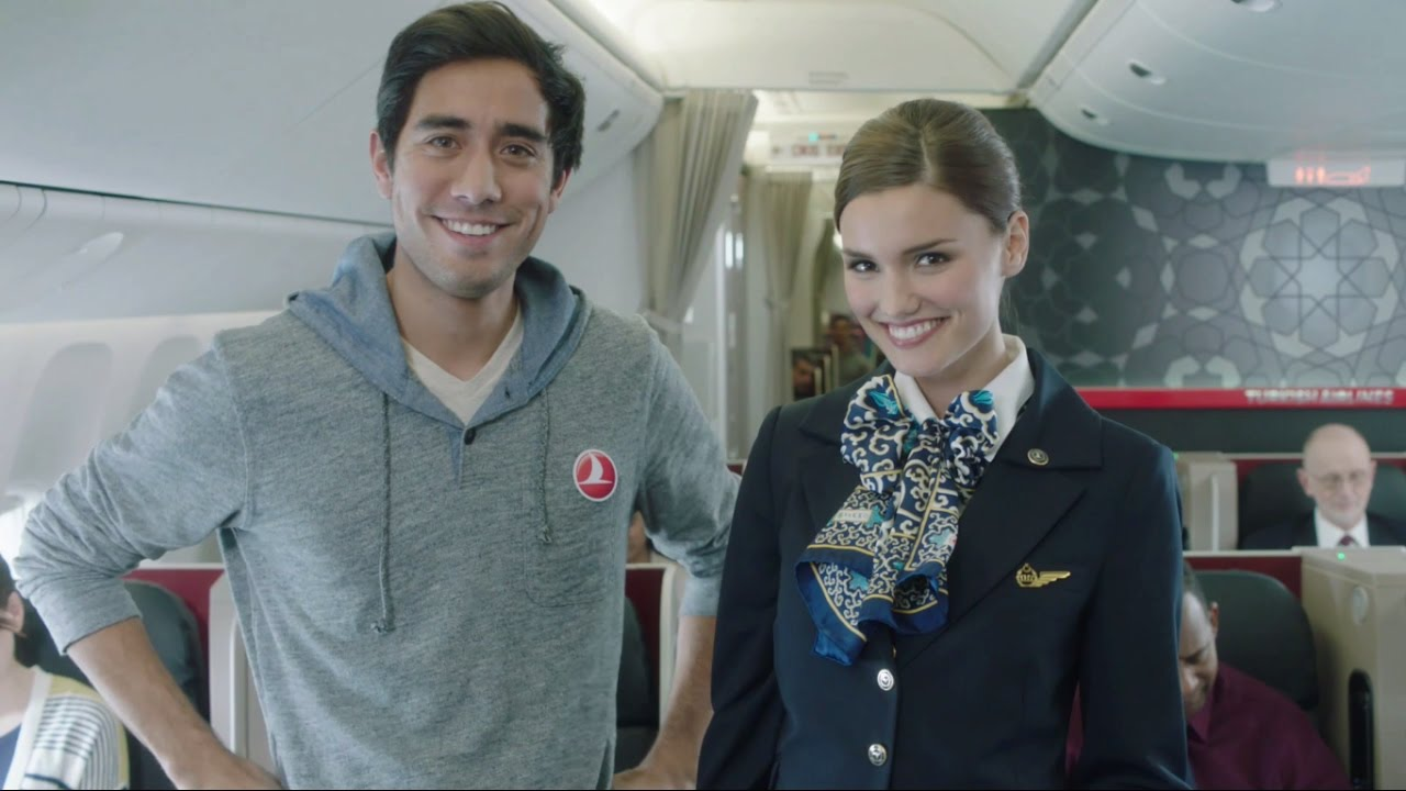 「旅遊一點通:聽懂安全指示,搭機不害怕」- Turkish Airlines Safety Video with Zach King Turkish Airlines Safety Video with Zach King
