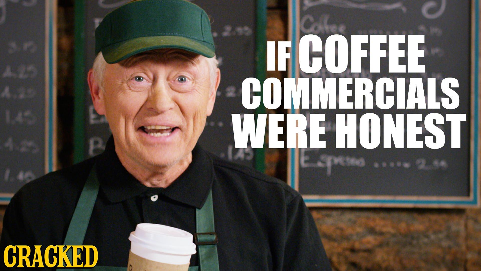 「【超酸誠實咖啡廣告】再忙,也要跟你喝杯『中樞神經系統興奮劑』」- If Coffee Commercials Were Honest