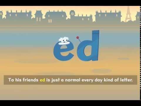 「文法好簡單!英文過去式的大咖:ed 先生」- Nessy Reading Strategy: 'ed' Past Tense