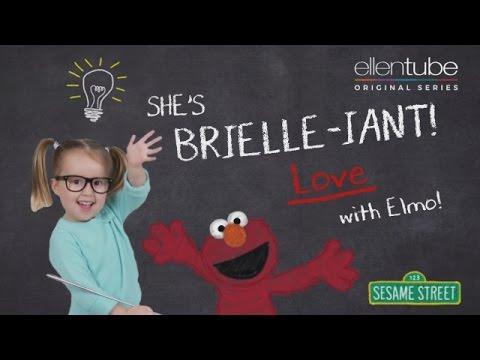 「愛就要說出口!『我愛你』的各國說法」- She's Brielle-iant, Love with Elmo