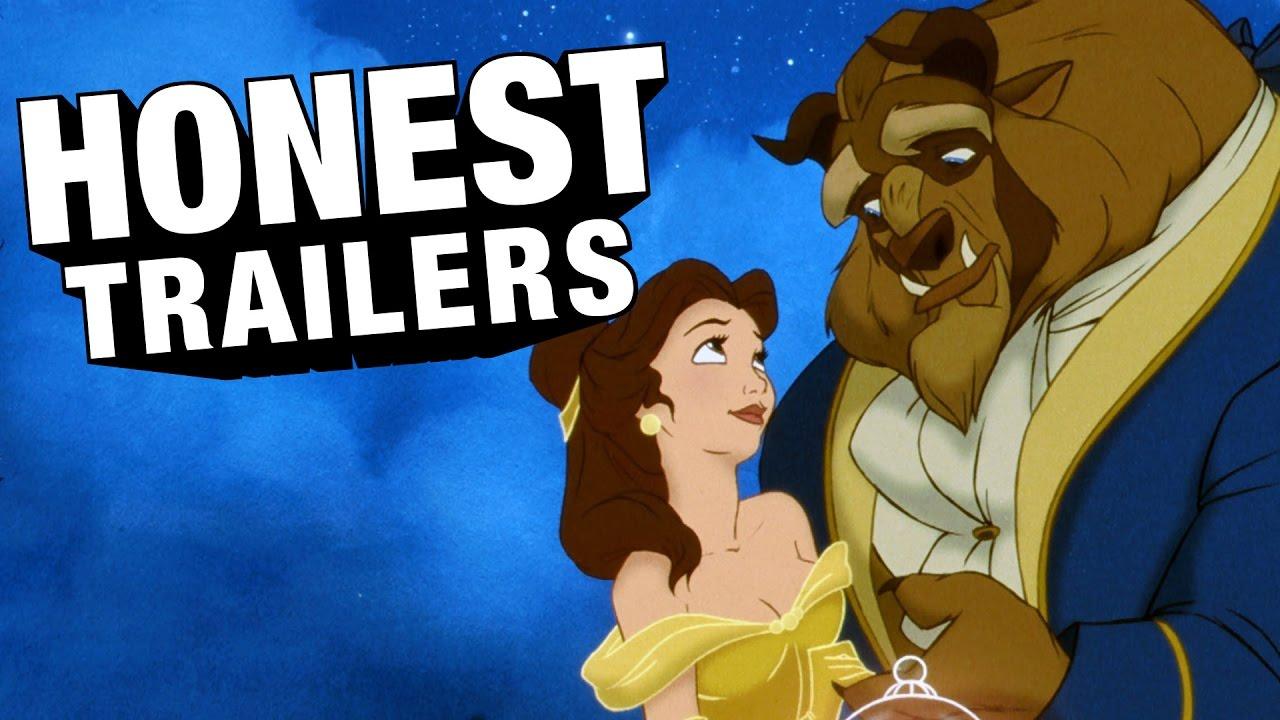 「童話幻想破滅中!誠實預告片帶你重新認識《美女與野獸》」- Honest Trailers: Beauty and the Beast
