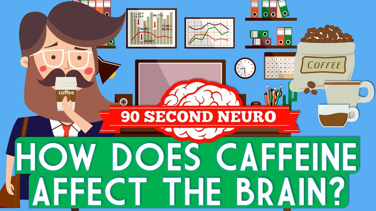 「喝杯咖啡提神醒腦!咖啡因對大腦下了什麼魔咒?」- How Does Caffeine Affect the Brain?