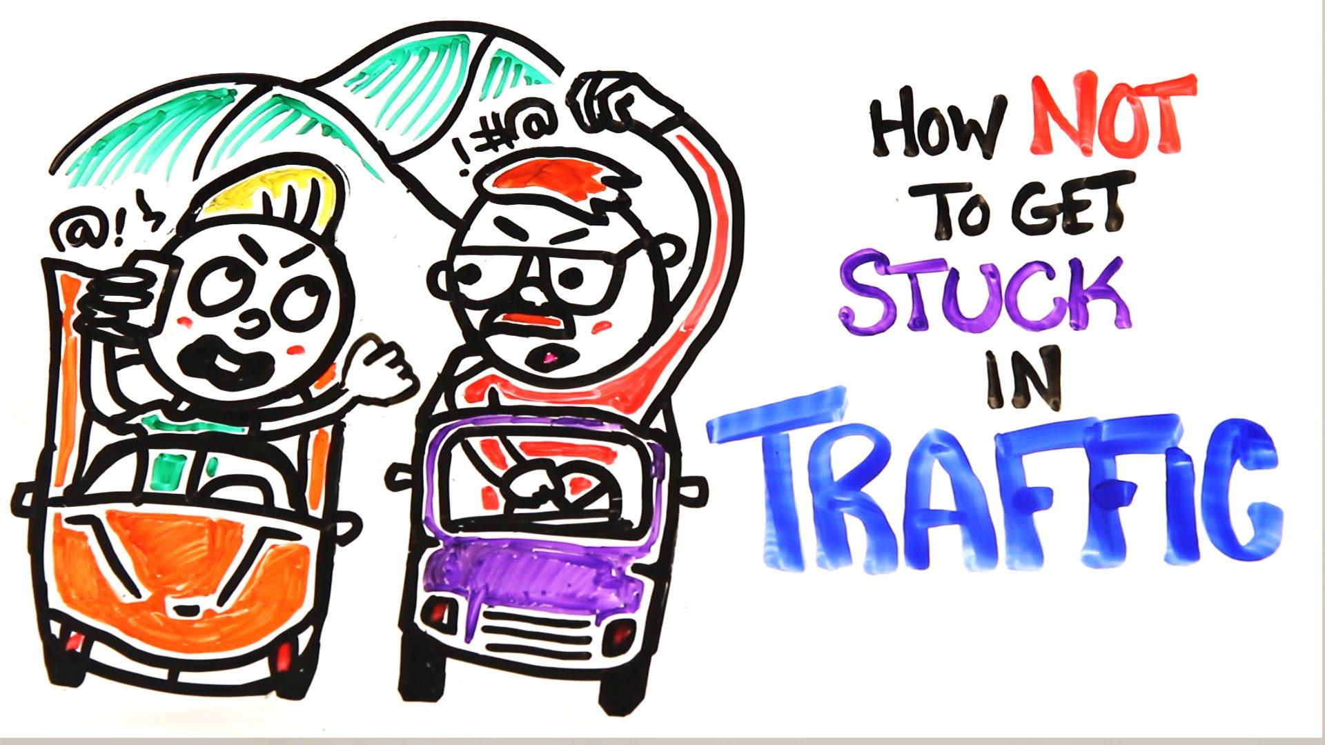 「連假又要塞車好苦啊!科學幫你逃出塞車惡夢」- How Not to Get Stuck in Traffic