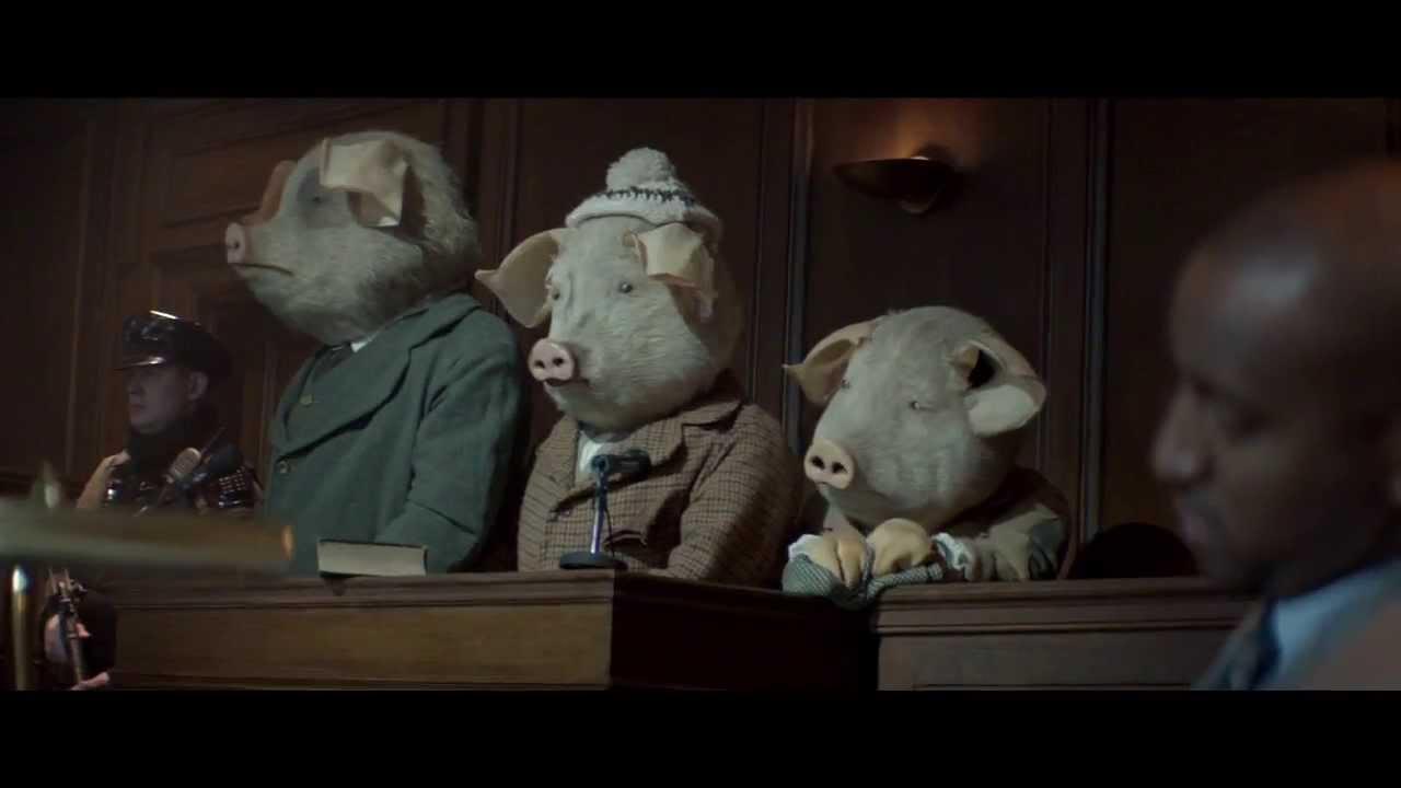「《衛報》廣告玩轉童話,這樣的《三隻小豬》結局太驚人!」- The Guardian: Three Little Pigs