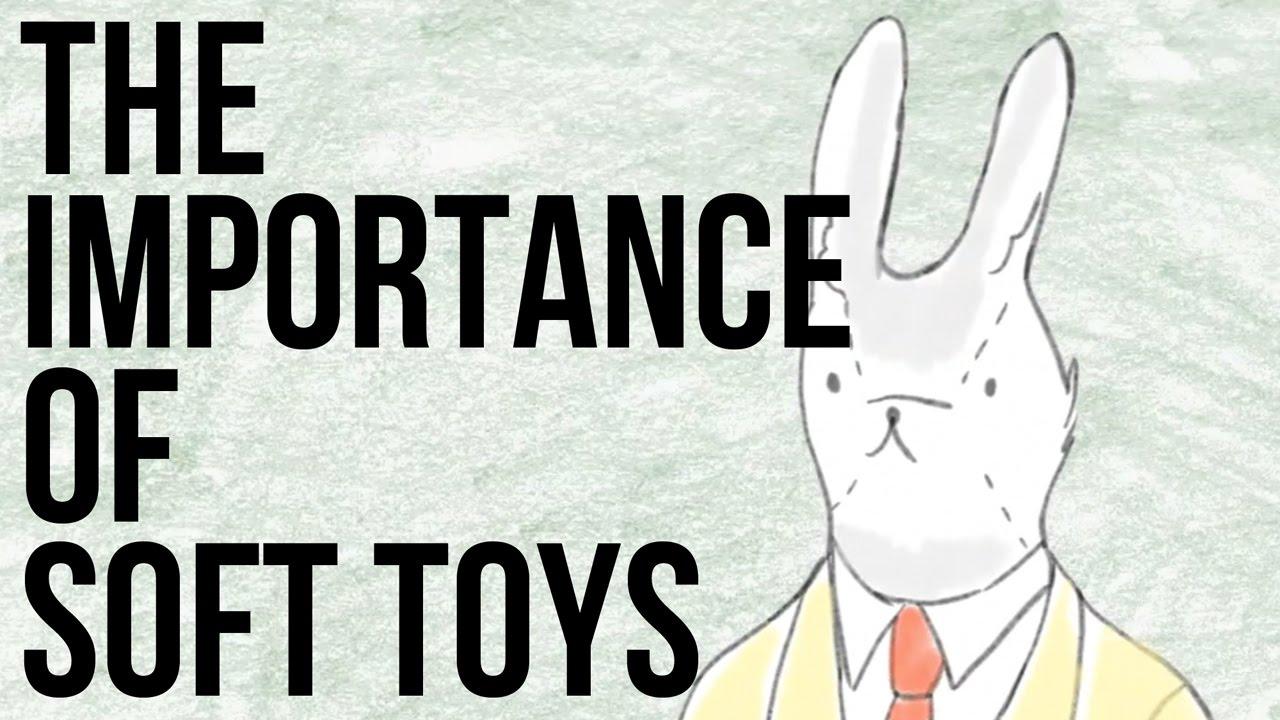 「為什麼每個人的童年中總有那麼一隻大玩偶?」- The Importance of Soft Toys