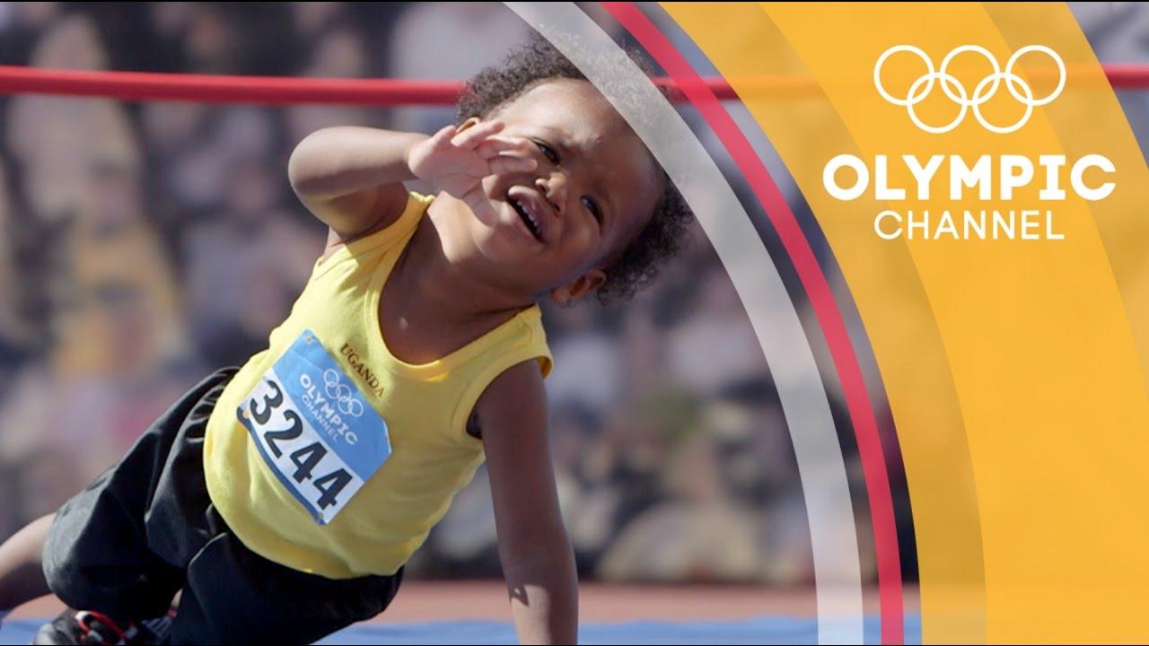 「萌成這樣太犯規了!歡迎收看寶寶奧運頻道」- If Cute Babies Competed in the Olympic Games