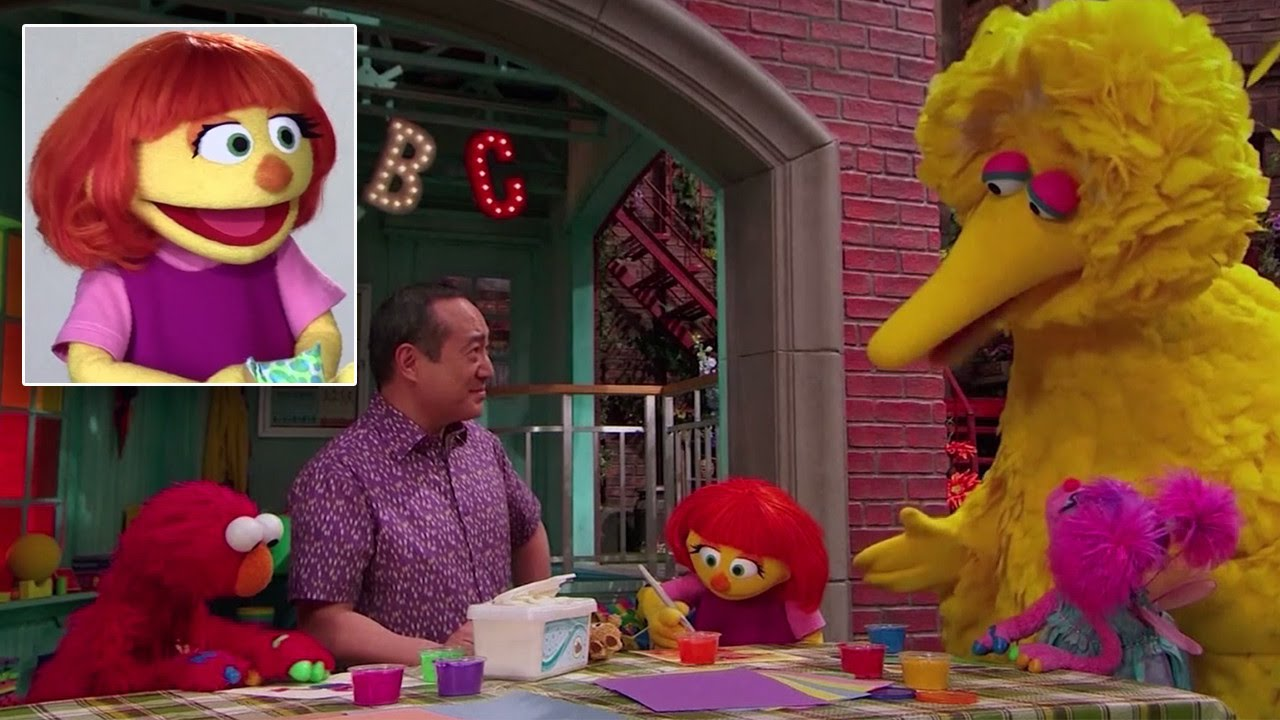 「十年來首度推出新布偶!自閉症小女孩 Julia 加入芝麻街家族」- Sesame Street Introduces the First Muppet with Autism