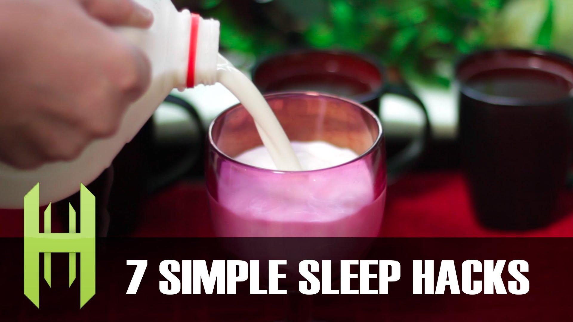「七招教你遠離失眠族」- 7 Simple Sleep Hacks!