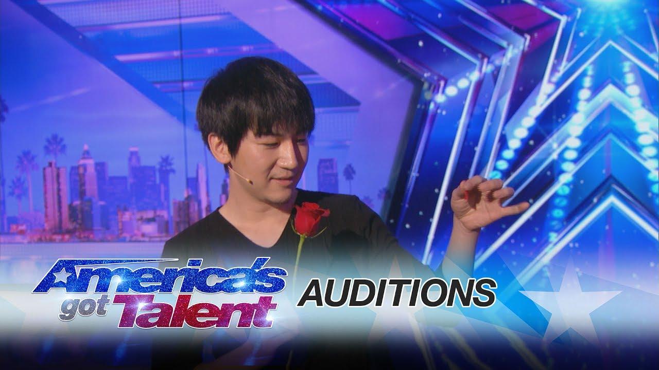 「台灣魔術師出神入化的錢幣魔術成功征服《美國達人秀》」- America's Got Talent: Will Tsai