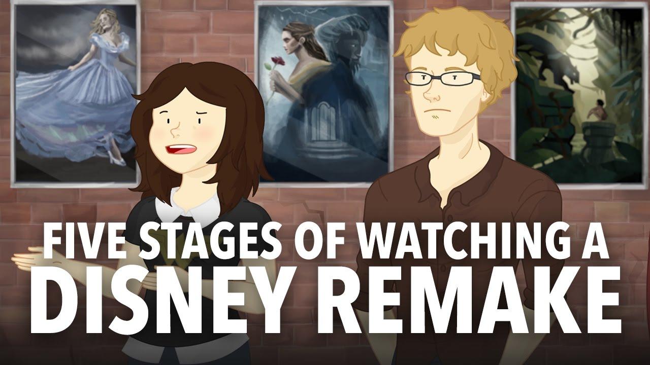 「還我童年來!看迪士尼改編電影必經的五段心路歷程」- Five Stages of Watching a Disney Remake