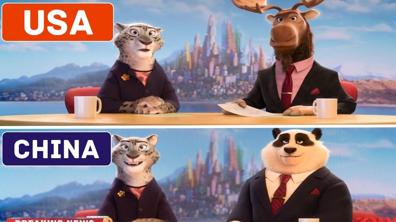 「什麼!這五部迪士尼動畫在其他國家居然有不同版本?!」- 5 Cartoons That Look Different in Other Countries