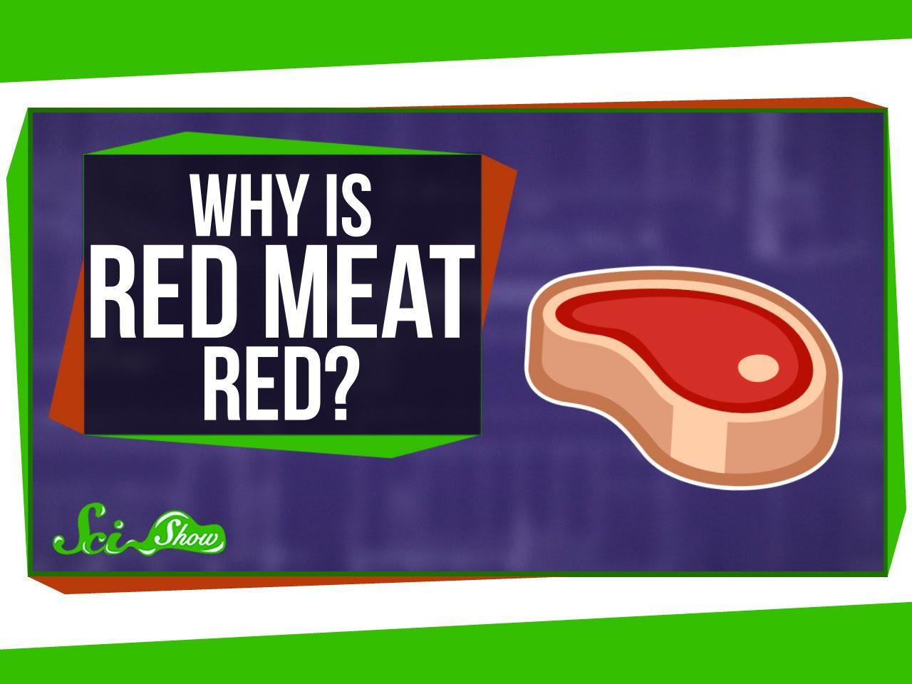 「科學大哉問:為什麼紅肉是紅的?」- Why Is Red Meat...Red?