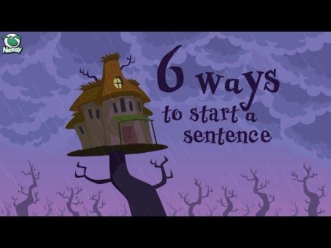 「【寫作技巧大揭密】六種句子開頭寫法」- Writing Tips: 6 Ways to Start a Sentence