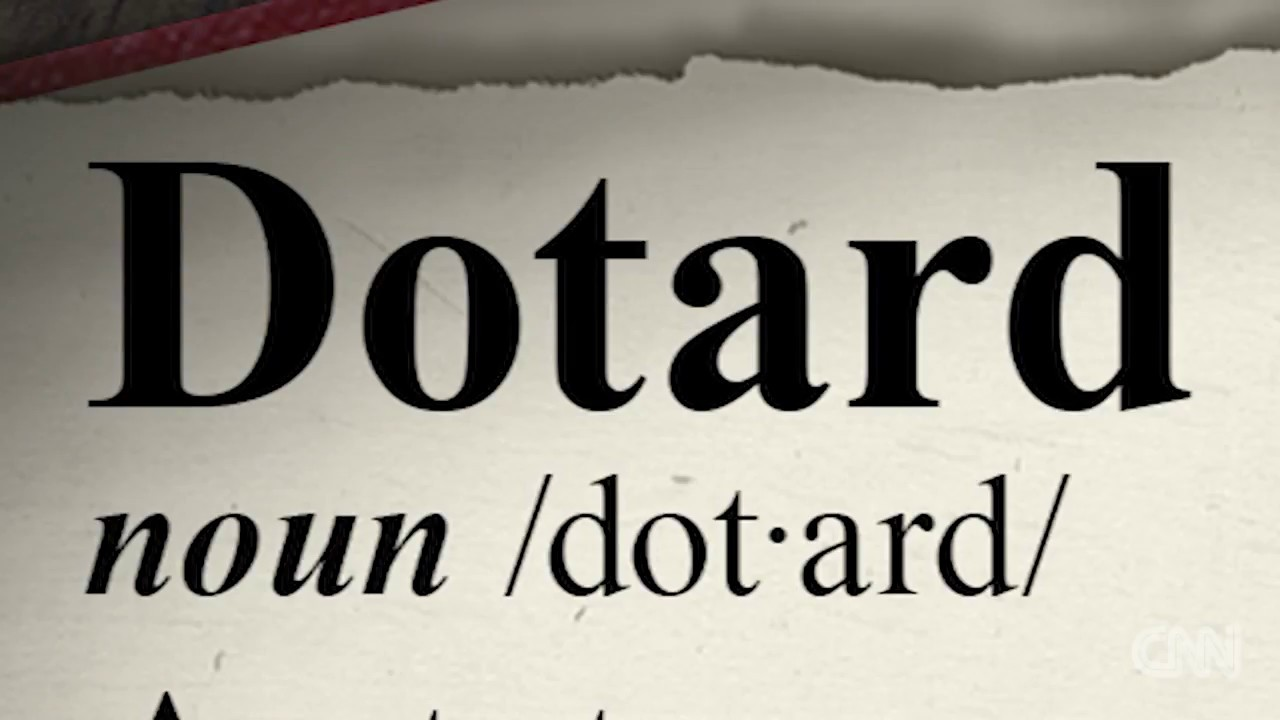 「『川普就是個 dotard!』金正恩這一罵讓美國人全去查字典」- What Exactly Is a 'Dotard'?
