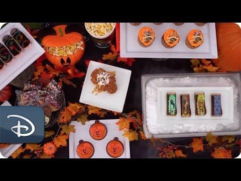 「不給糖就搗蛋!一起到美國參加『米奇的不太恐怖萬聖趴』」- Mickey Not-So-Scary Halloween Party Desserts