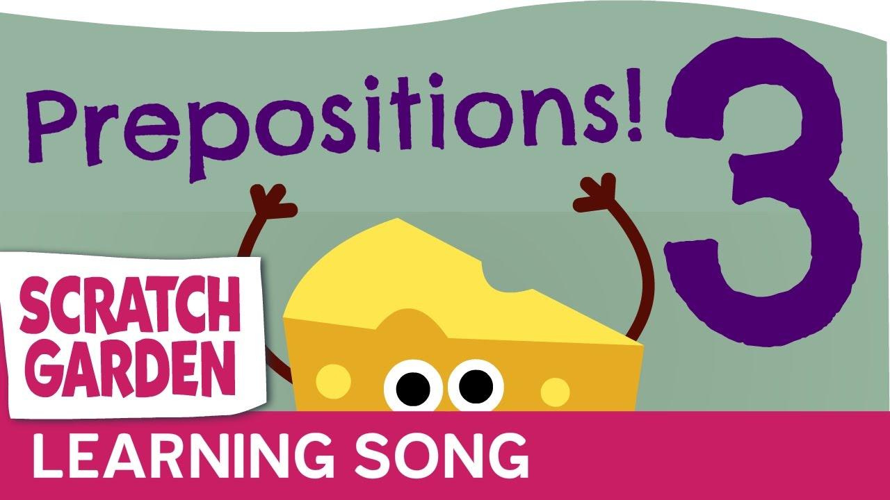 「聽完這首歌,輕鬆學會英文介係詞!」- The Preposition Song for Kids: Part 3