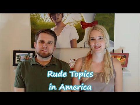 「和美國人聊天時,千萬別碰這些地雷話題!」- Rude Topics in America