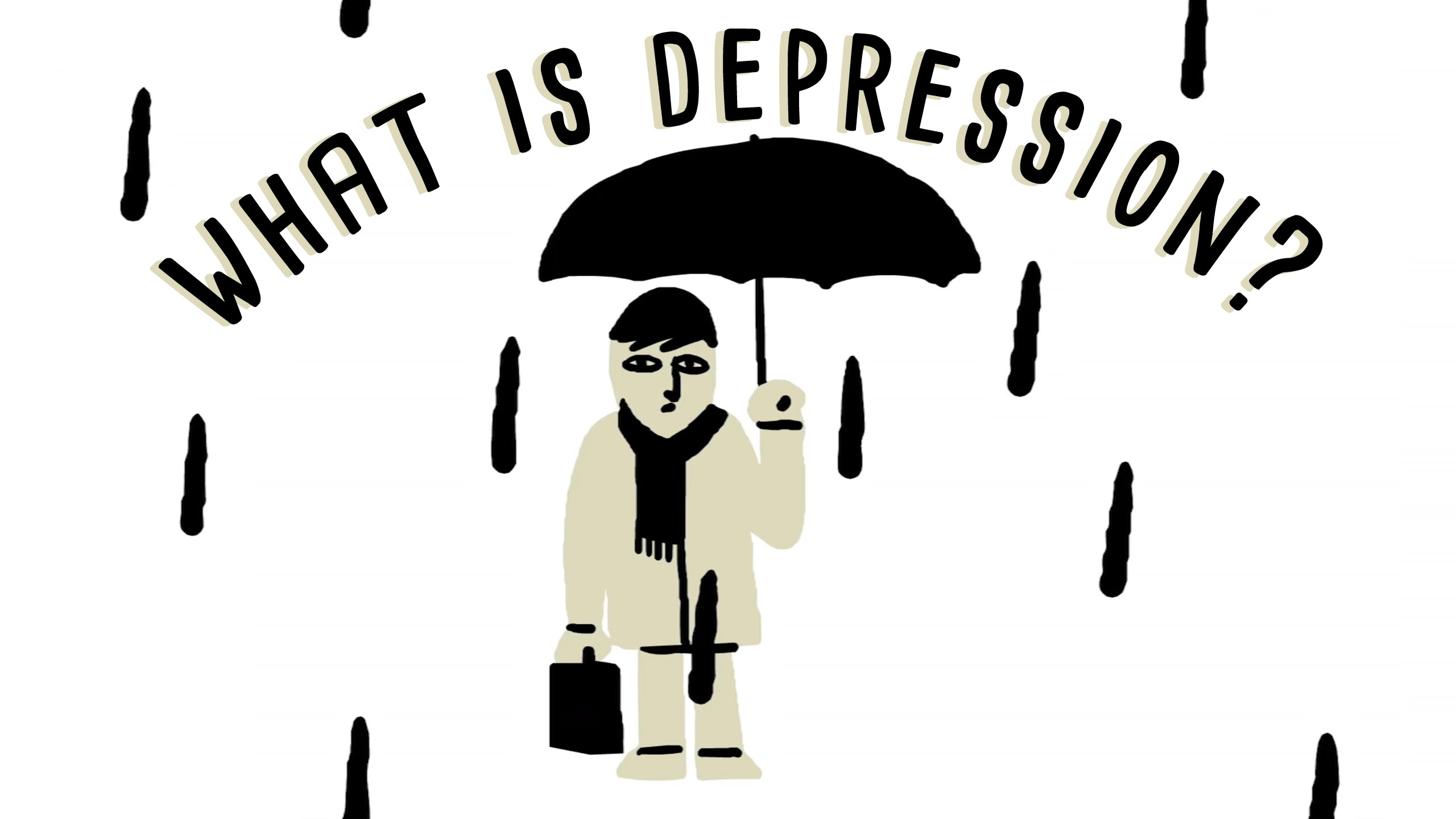 「【TED】認識憂鬱症」- What Is Depression?