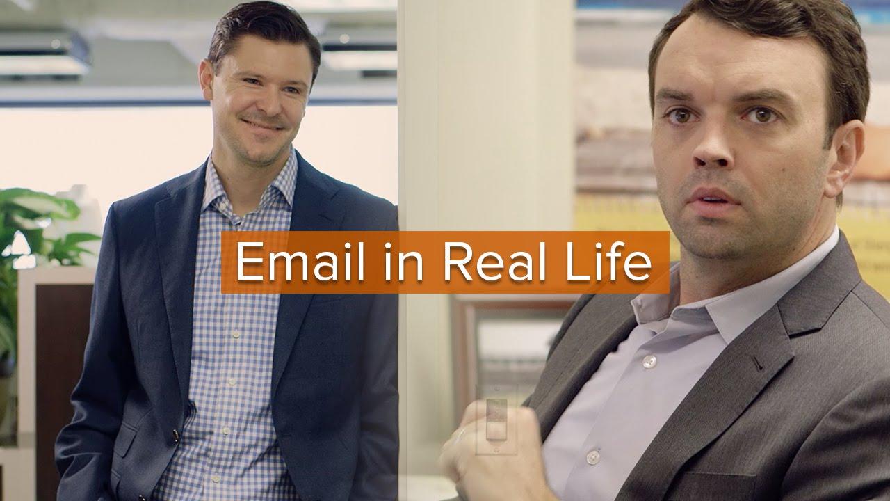 「【職場狀況劇】讓人白眼翻到天邊的 email 行為」- Email in Real Life