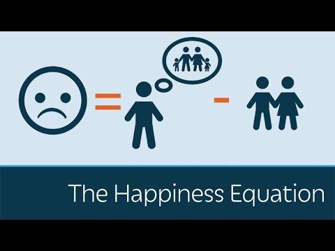 「認識『幸福方程式』,掌握快樂生活的祕訣」- Happiness Equation: U = I - R