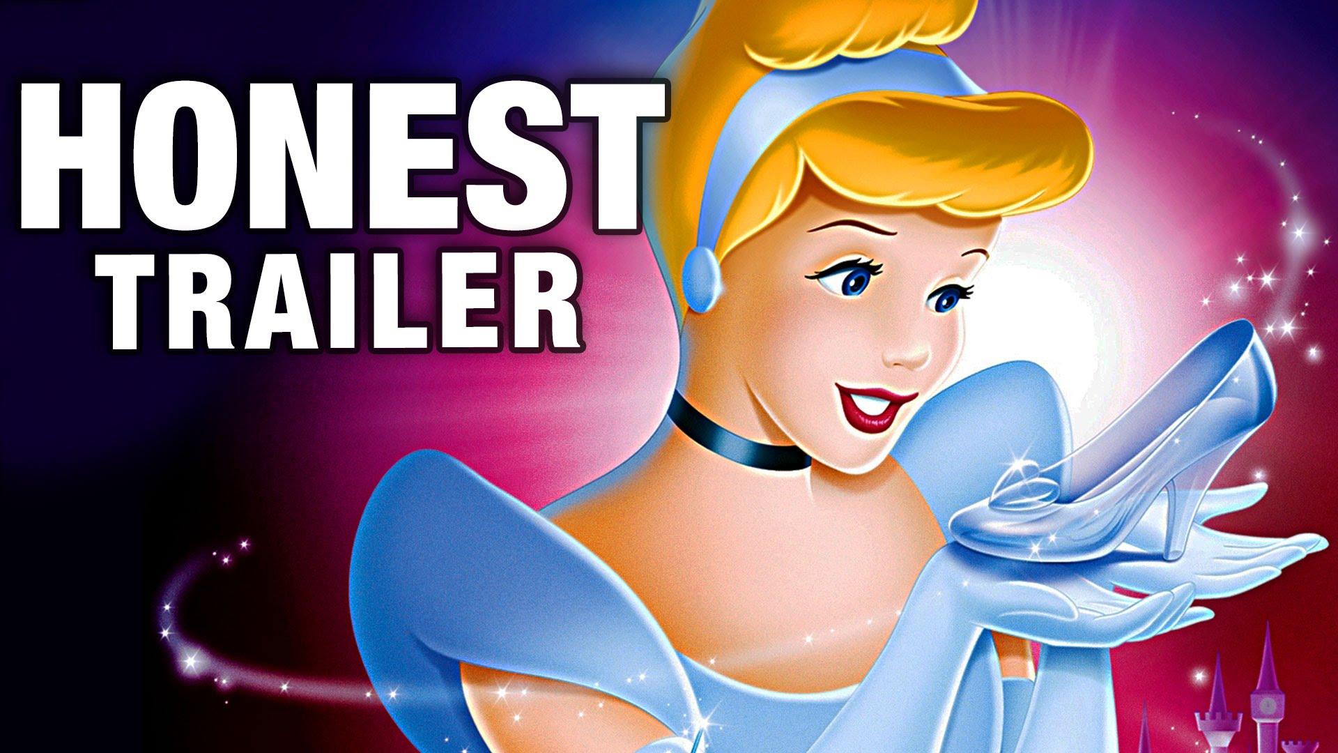 「童年大崩壞!誠實預告片揭開《仙履奇緣》的黑暗面」- Honest Trailer: Cinderella