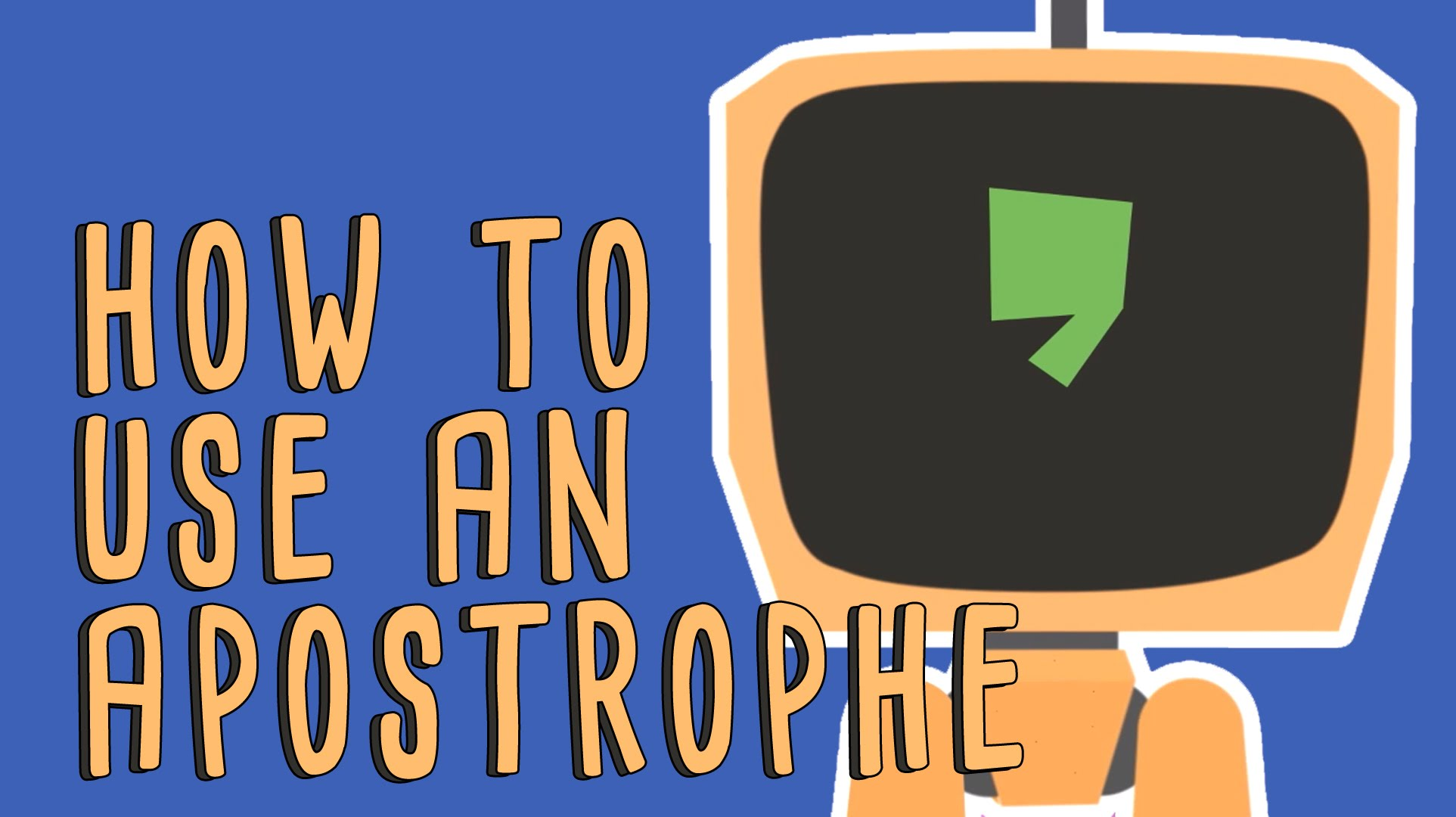 「【TED 文法教室】小小撇號,大大不同」- When to Use Apostrophes