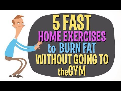 「甩肉大作戰!五種不用上健身房也能做的燃脂運動」- 5 Fast Home Exercises to Burn Fat & Calories without Going to the Gym