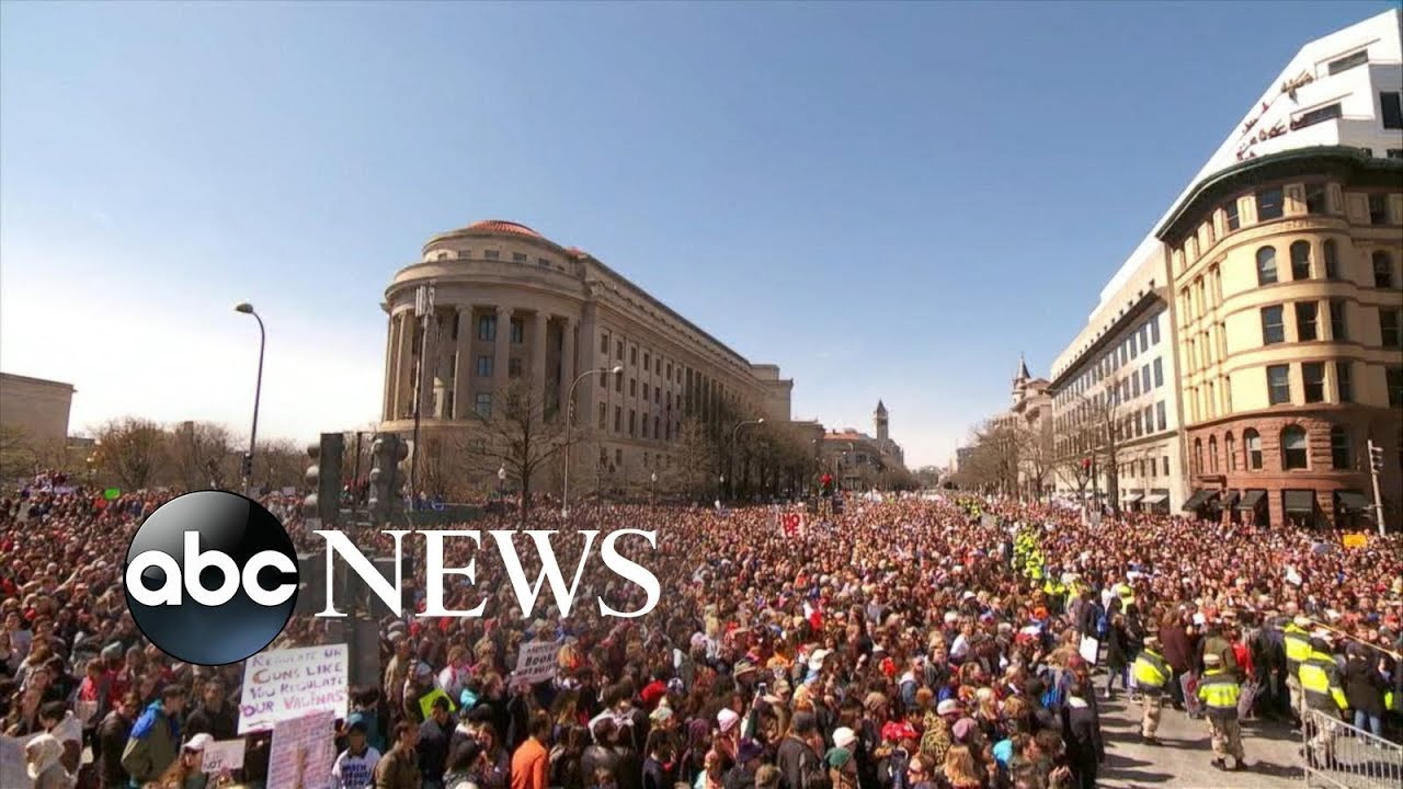 「【看時事學英文】槍械暴力問題迫使美國新世代走上街頭」- Will March for Our Lives Get Congress to Act on Gun Control?