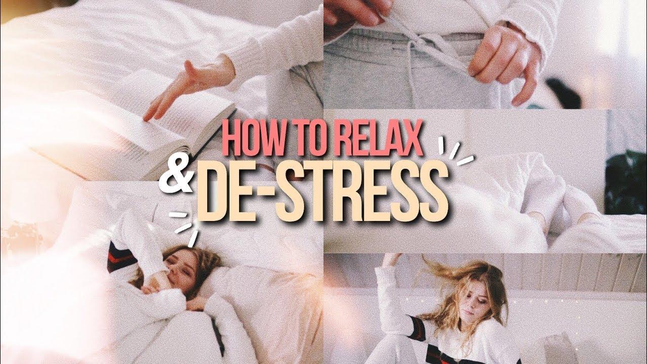 「如何紓壓放鬆」- How to Relax and How to De-stress