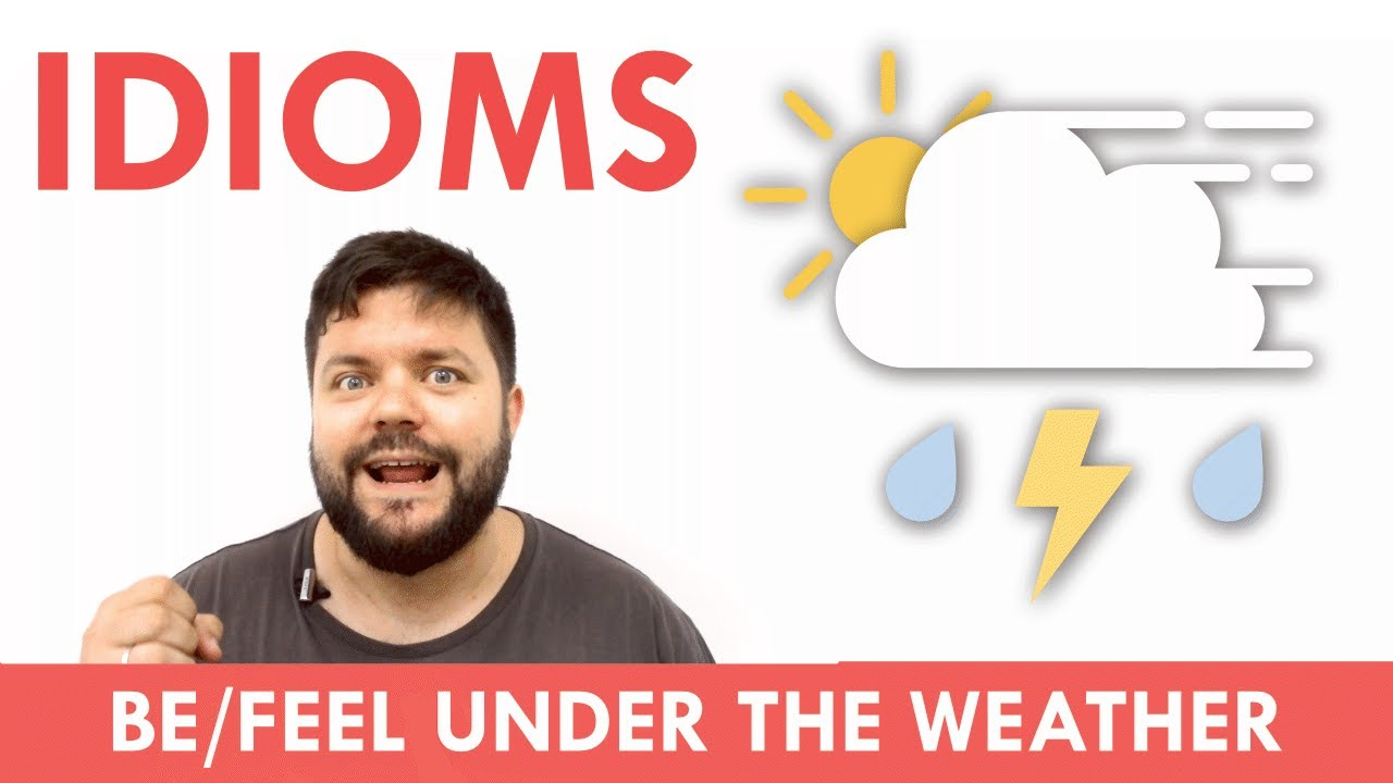 英文成語輕鬆學:under the weather