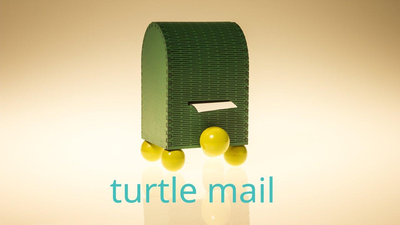 「小烏龜信箱--讓親子連結的科技玩物」- AE Dreams Kickstarter Turtle Mail IoT
