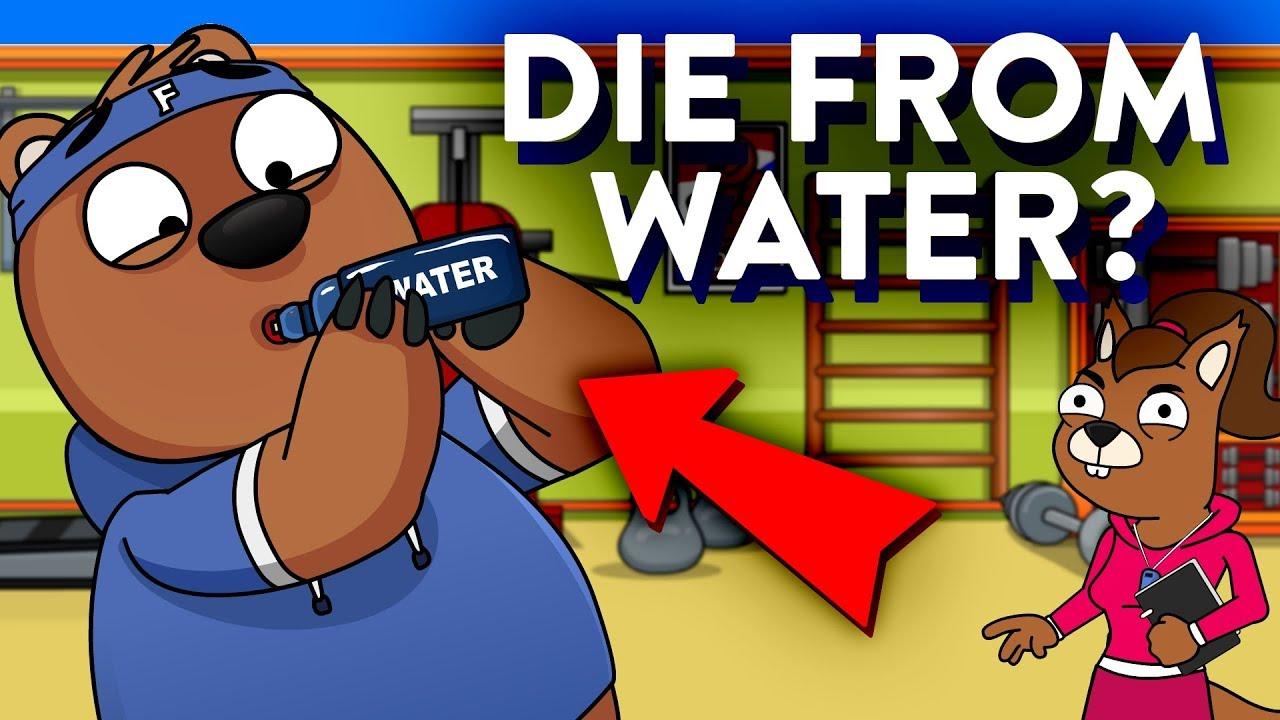 喝太多水也不行?兩分鐘了解水中毒
