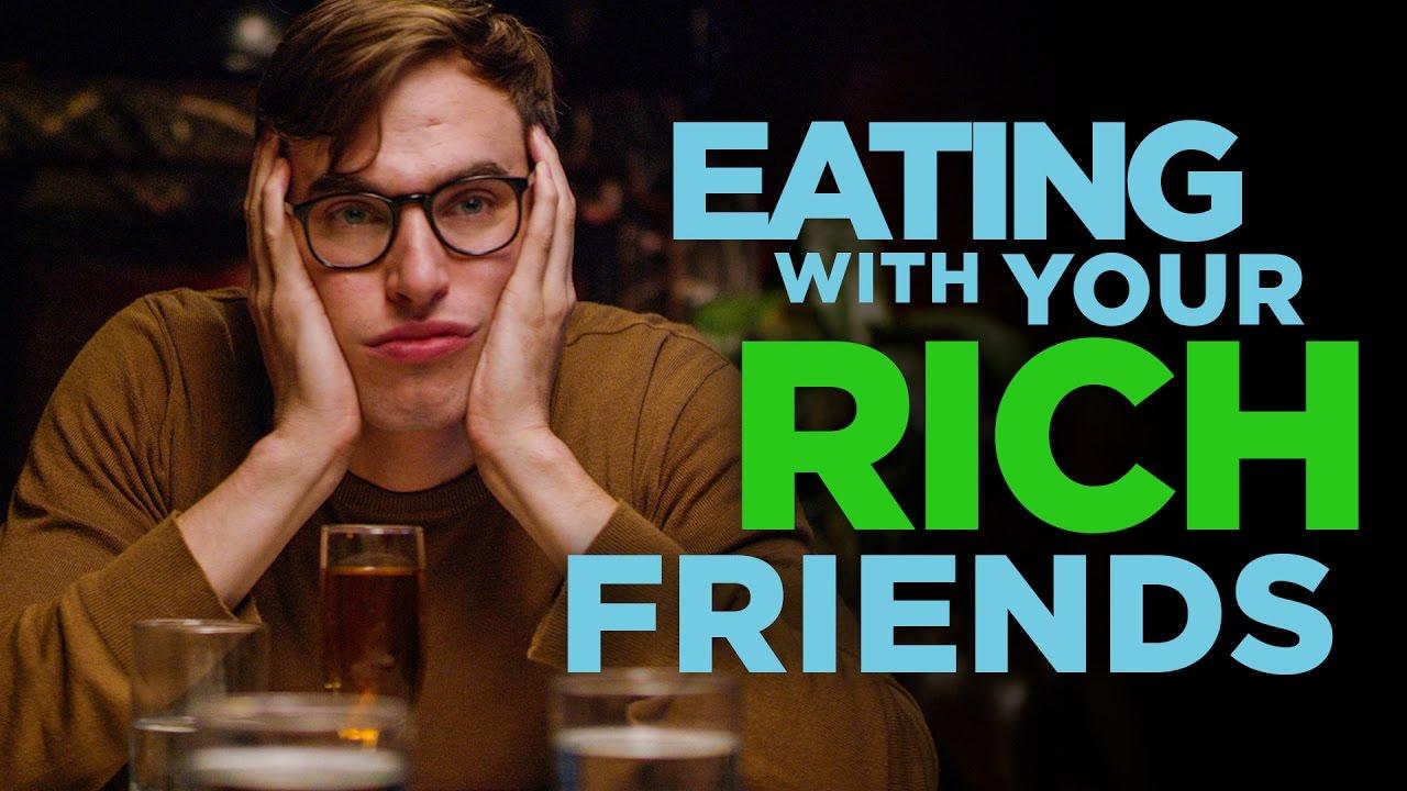 「跟有錢的朋友吃飯好辛苦,我只是一介草民!」- Eating with Your Rich Friends