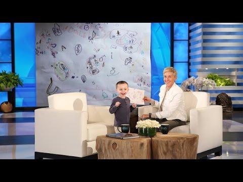 「這些你連聽都沒聽過的地方,這個五歲的地理小天才竟然都知道!」- Ellen Meets a Five-Year-Old Geography Expert