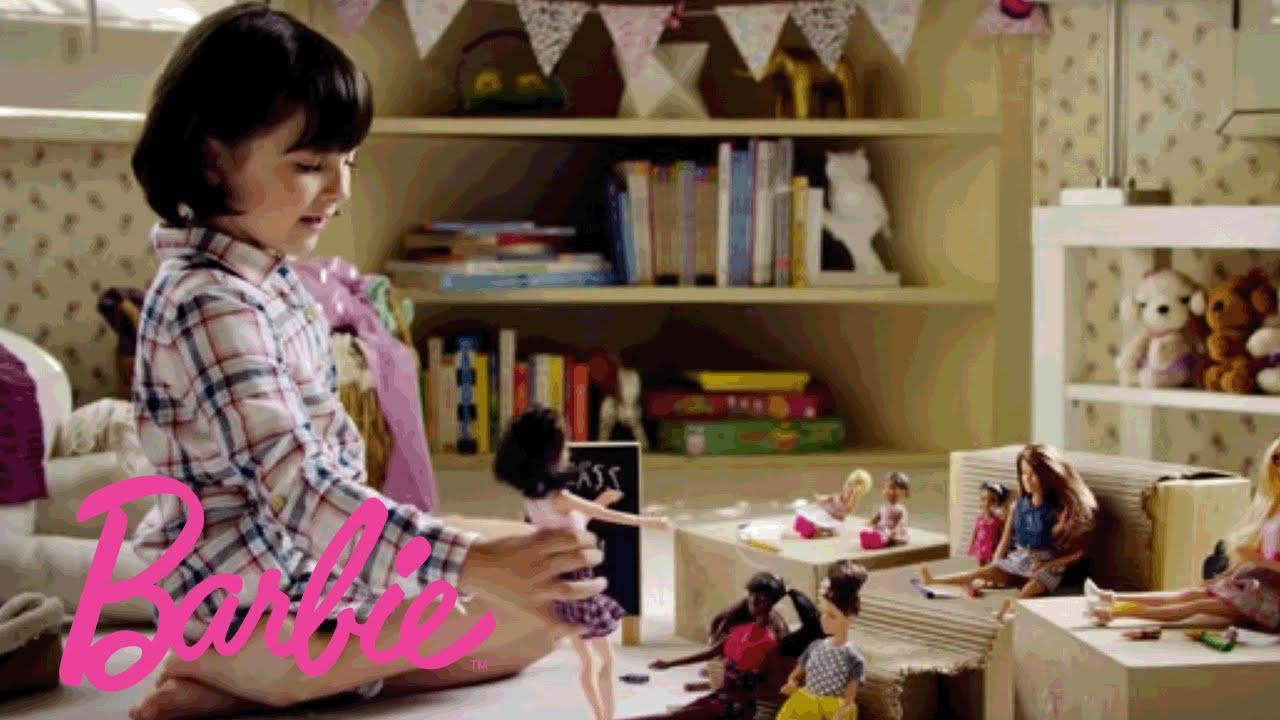「女孩,妳能成為任何妳想成為的樣子」- Barbie: Imagine the Possibilities