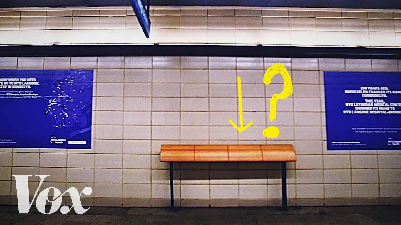 「為什麼城市充滿不舒適的長椅?」- Why Cities Are Full of Uncomfortable Benches
