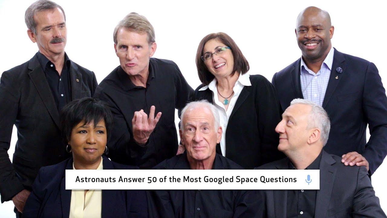 NASA 太空人回答五十個最常被搜尋的太空問題!