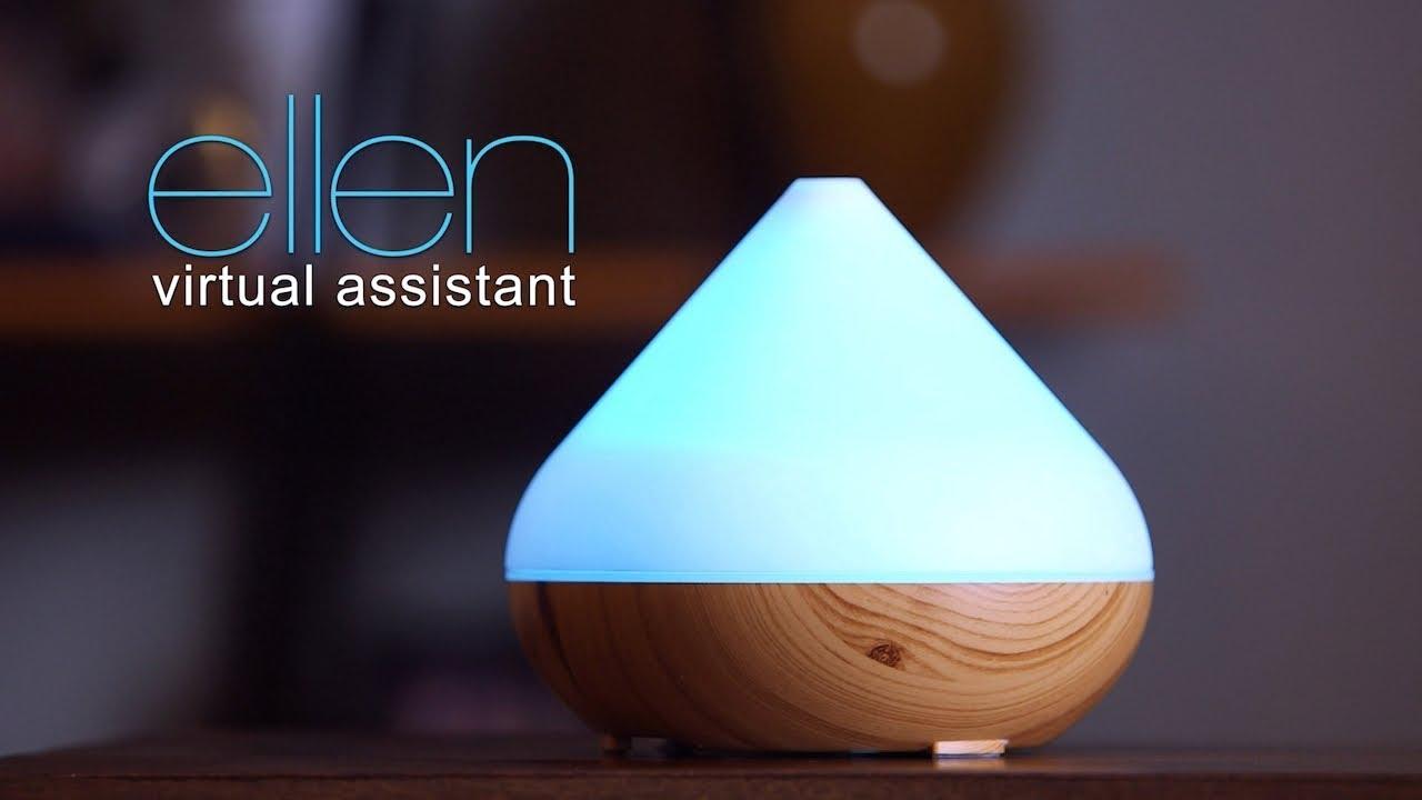 Google Home 跟 Alexa 已經落伍了!快來用 Ellen 虛擬助理